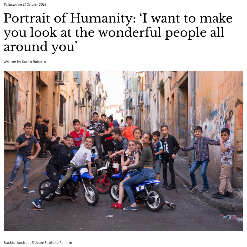 Portrait Of Humanity 'I Want To Make You Look At The Wonderful People All Around You'